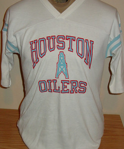 vintage 1980s Houston Oilers NFL footb dcd68d3ea