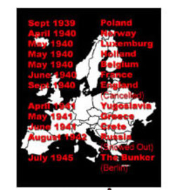 Adolf hitler european tour T-Shirts