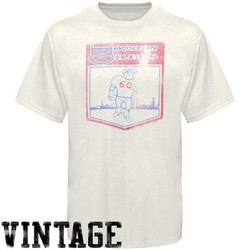 Junk Food Houston Oilers Cream Oilers AFL Vintage T 6b675e7c1